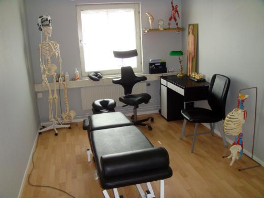 Behandlingsrum för sjukgymnastik i Malmö