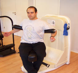 Modern styrketräningsmaskin