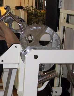 kamhjul som ger variabel belastning