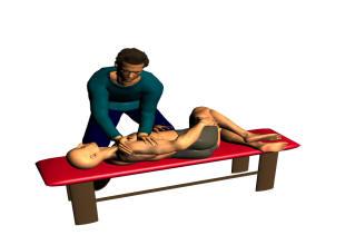 Behandling av patient med symtom från ländryggen
