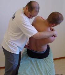 Undersökning av ryggen