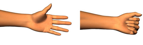 Gymnastisk för fingrar och händer