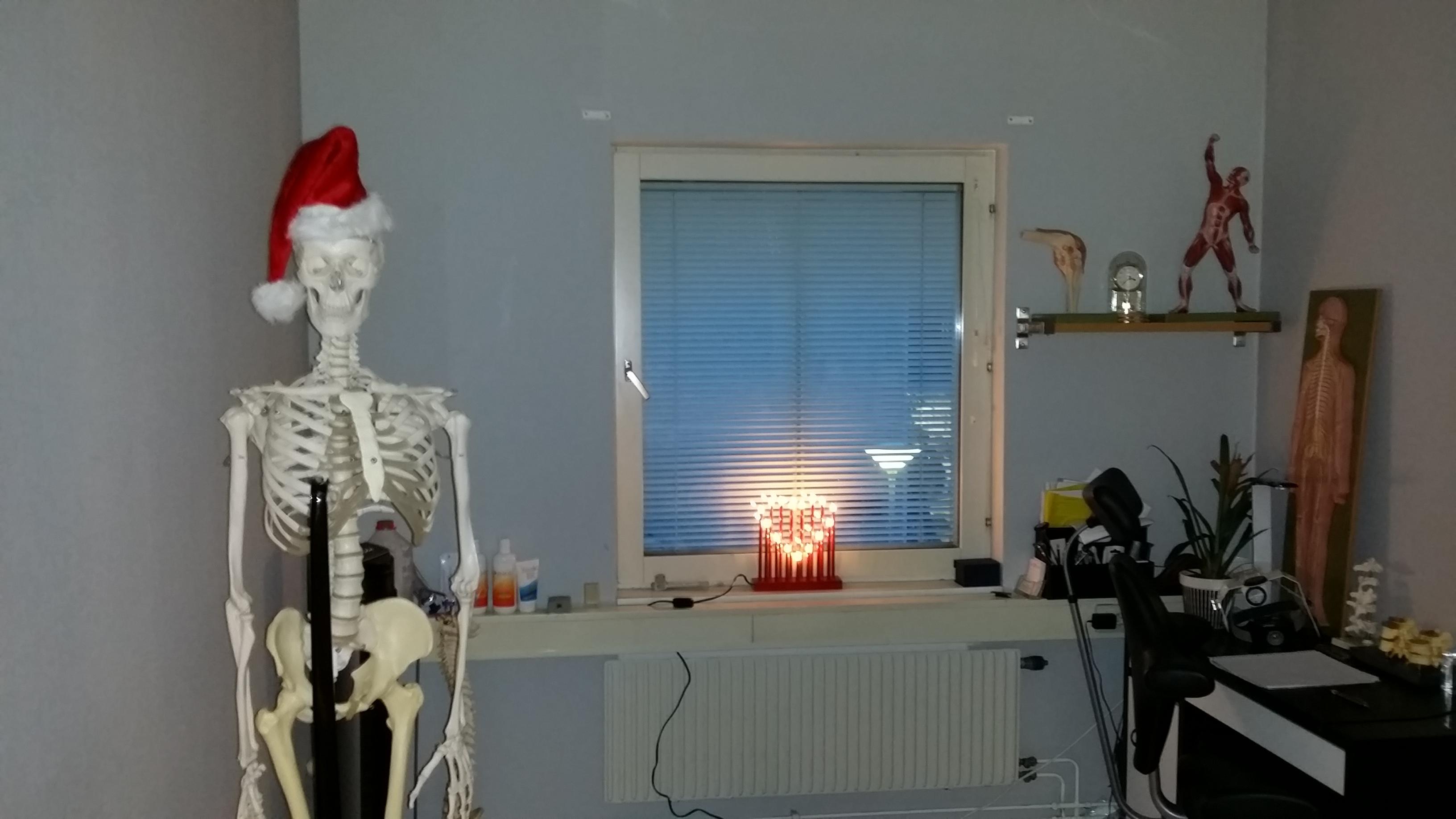 Advent på David Astons klinik 2013
