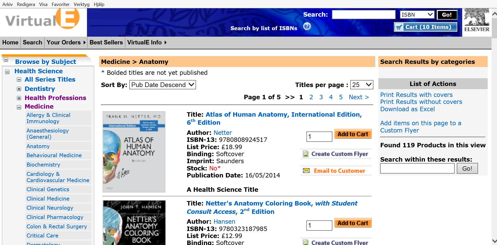 medicinska böcker