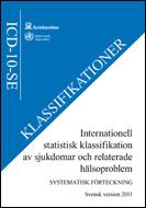 Internationell statistisk klassifikation av sjukdomar och relaterade hälsoproblem