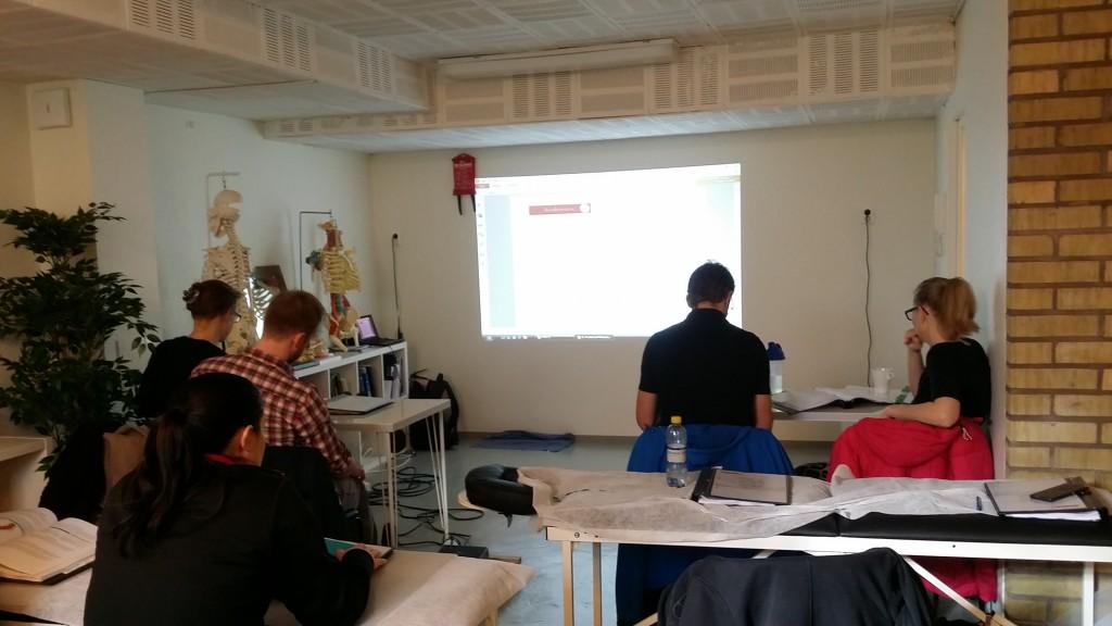 Utbildning i Smärtsyndrom och Positional Release i nya lokaler i Malmö.